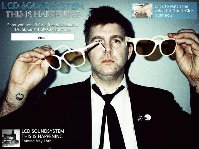 Gratisdownload: LCD Soundsystem - Drunk Girls (Holy Ghost! Remix)