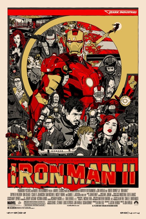 Iron Man 2 by Tyler Stout