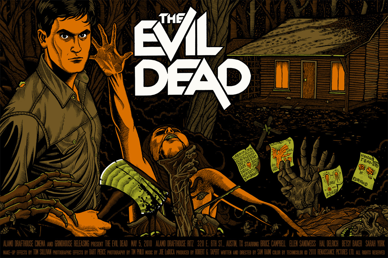 The Evil Dead by Florian Bertmer