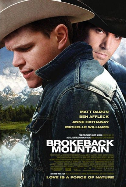 Matt Damon & Ben Affleck in Brokeback Mountain