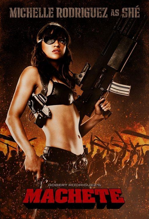 Michelle Rodriguez as Shé