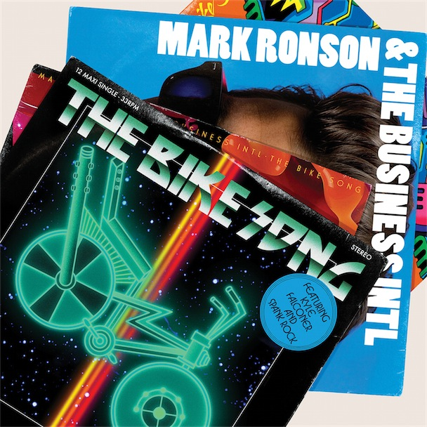 Mark Ronson & The Business INTL - The Bike Song