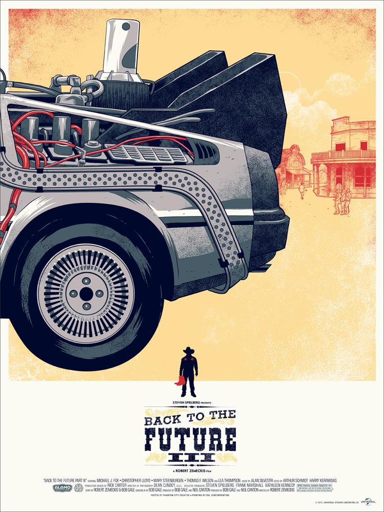 Back to the Future 3 x Mondo