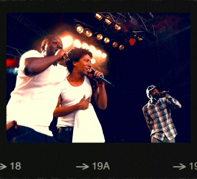 The Pharcyde at 100 Yards Festival