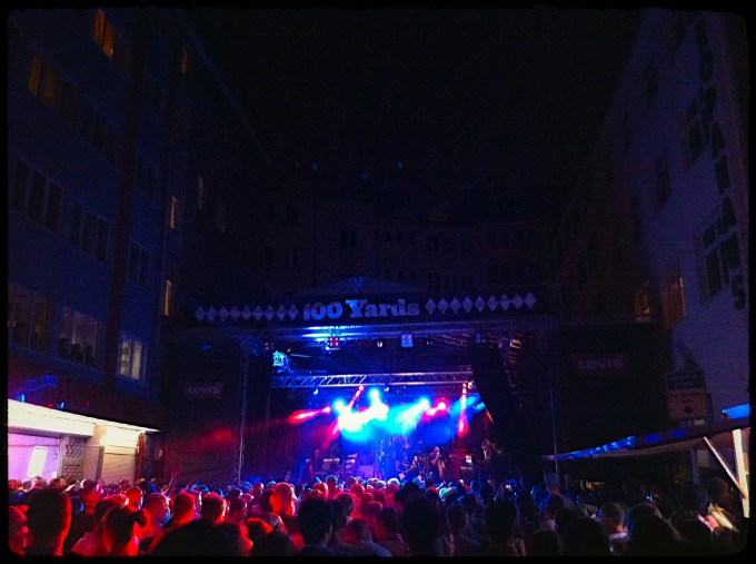Nas at 100 Yards Festival