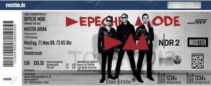 Depeche Mode FanTicket