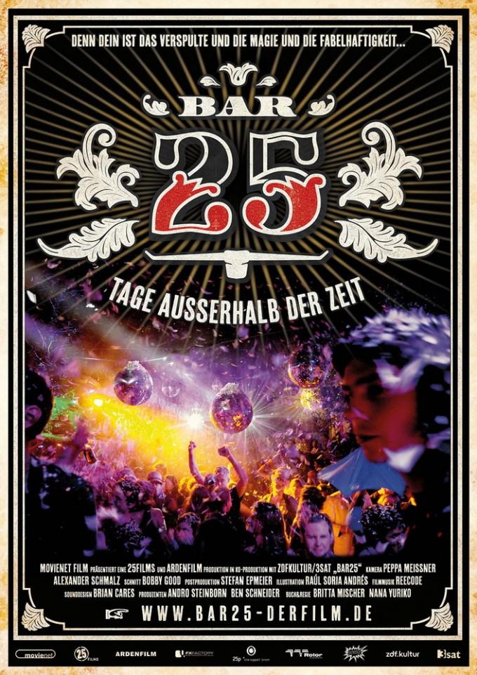 Bar 25 - Tage ausserhalb der Zeit Poster
