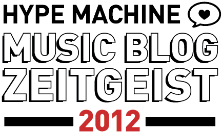 Hype Machine Music Blog Zeitgeist 2012