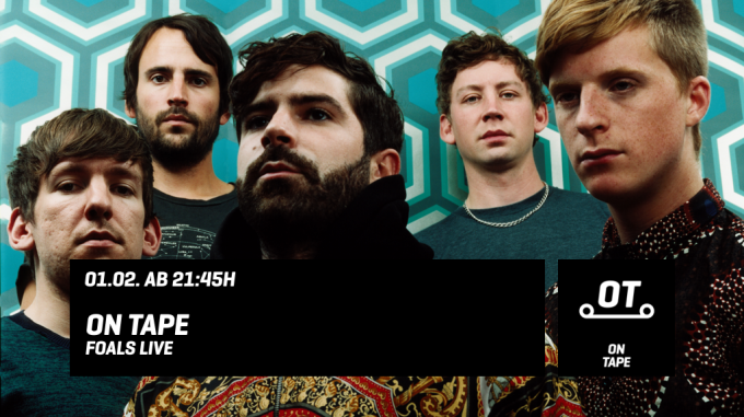 Foals x on tape x tape.tv
