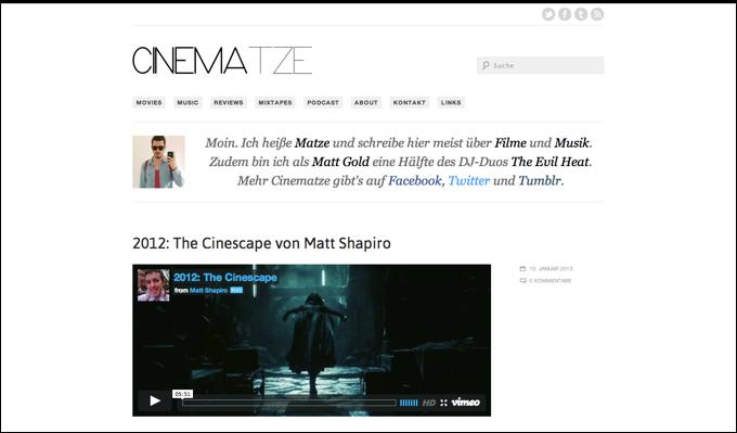Cinematze 7.0 Screenshot