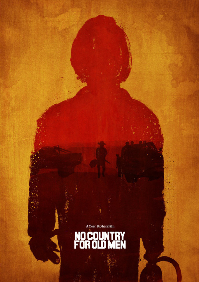 No County for Old Men Poster