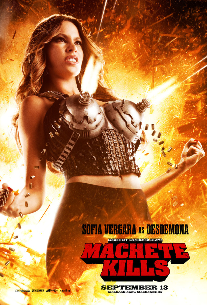 Sofia Vergara in Machete Kills Poster