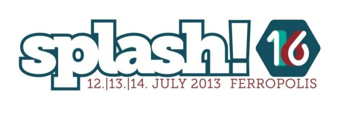 Logo splash! Festival 2013