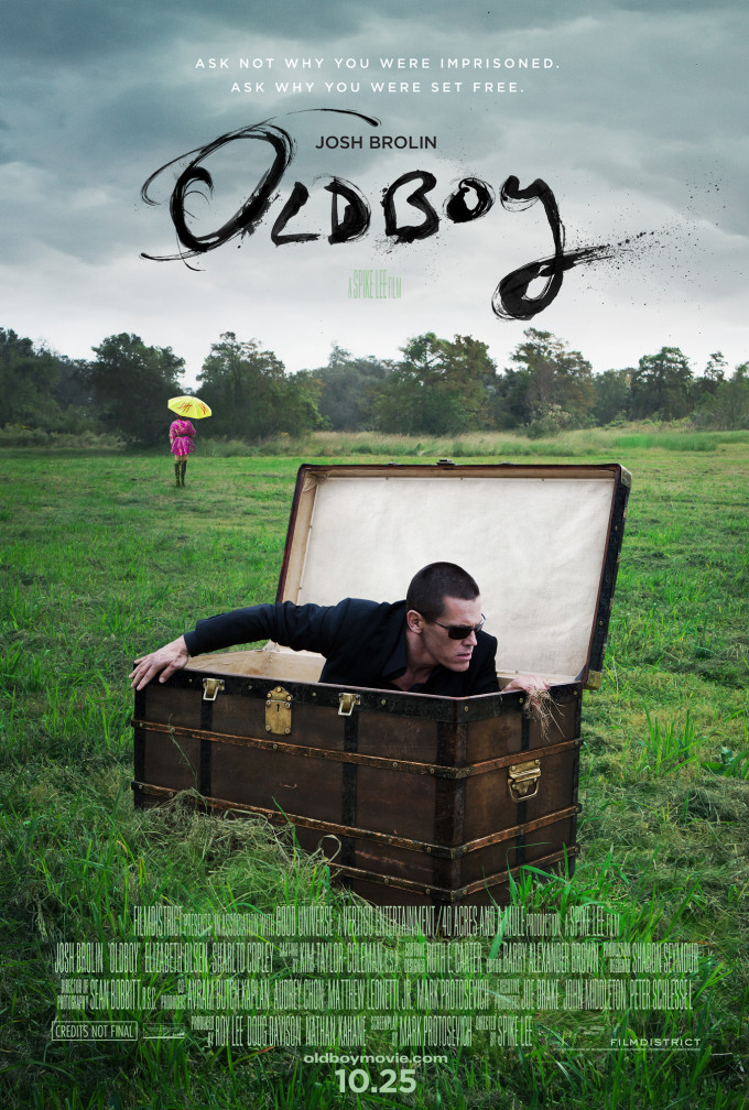 Oldboy (Remake) Poster