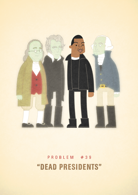 Jay-Z's 99 Problems by Ali Graham