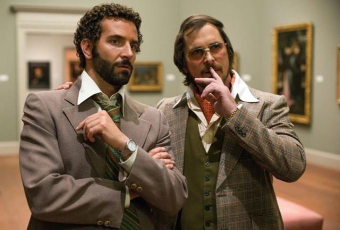 Bradley Cooper und Christian Bale in American Hustle