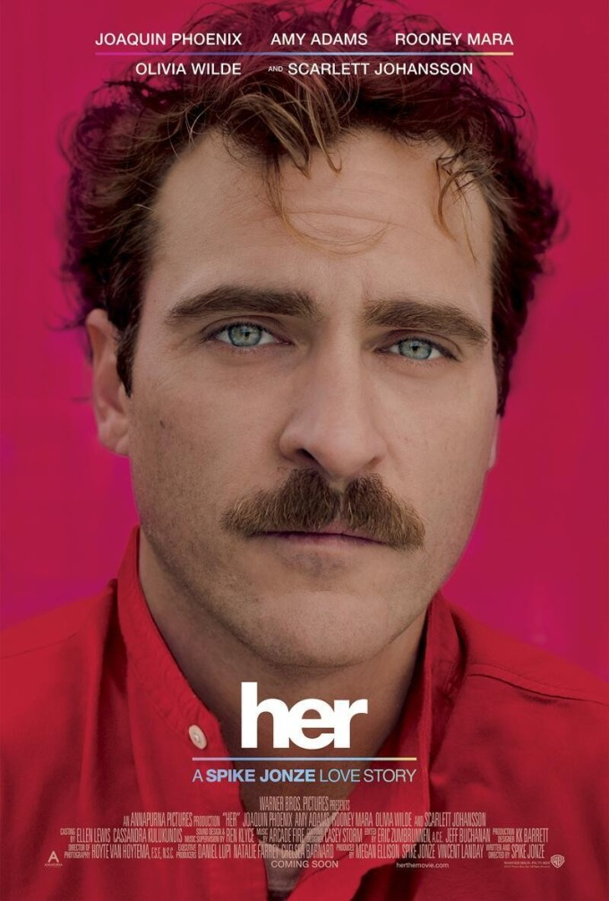 Spike Jonze - Her Poster