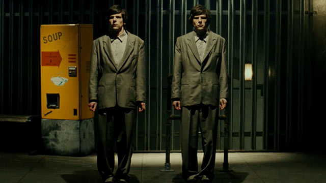 "Jesse Eisenberg in ""The Double"""