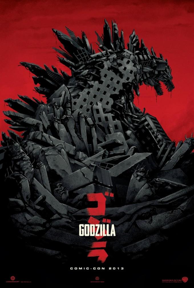 Gozilla Comic-Con Mondo Poster