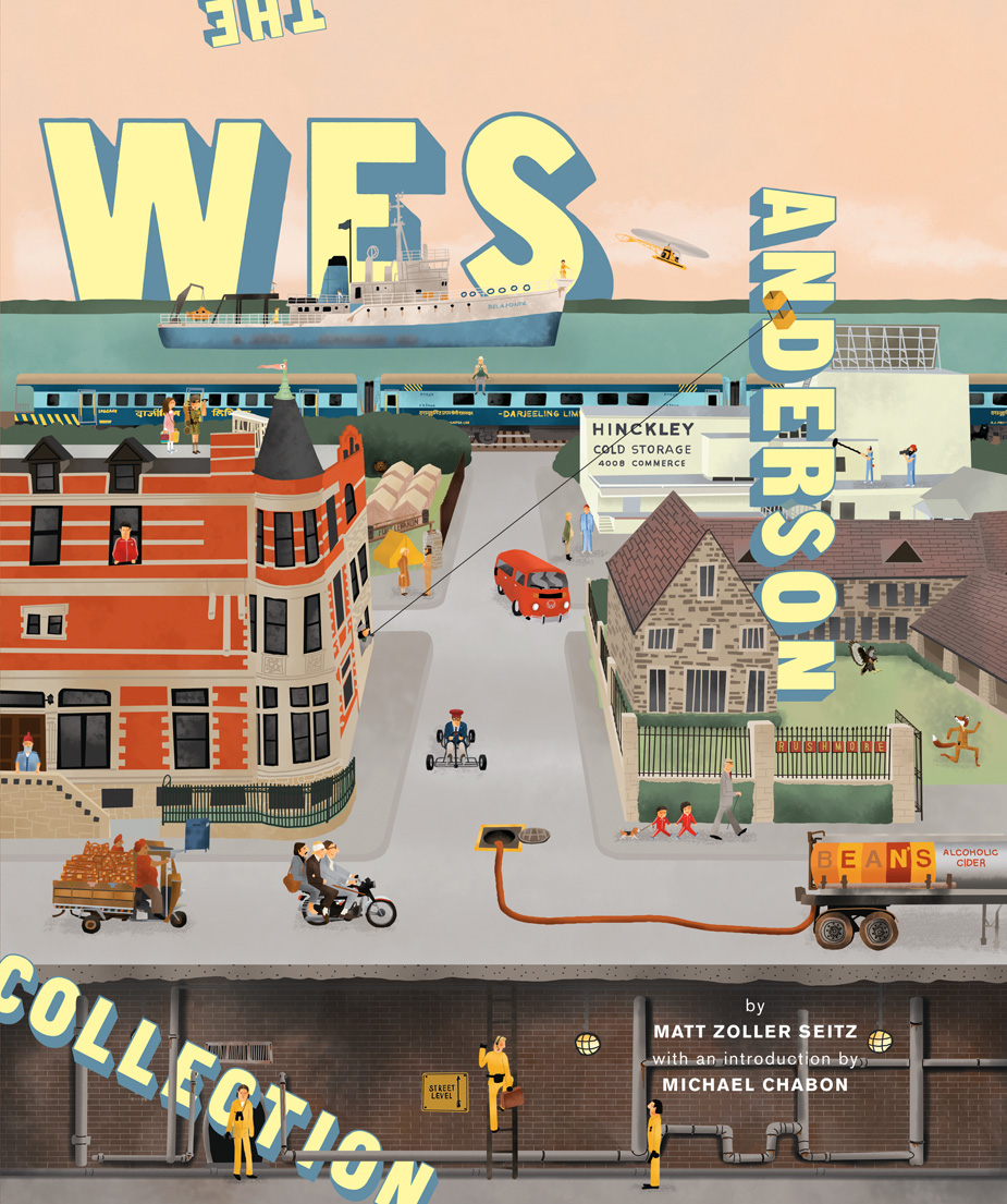 The Wes Anderson Collection Book Cover