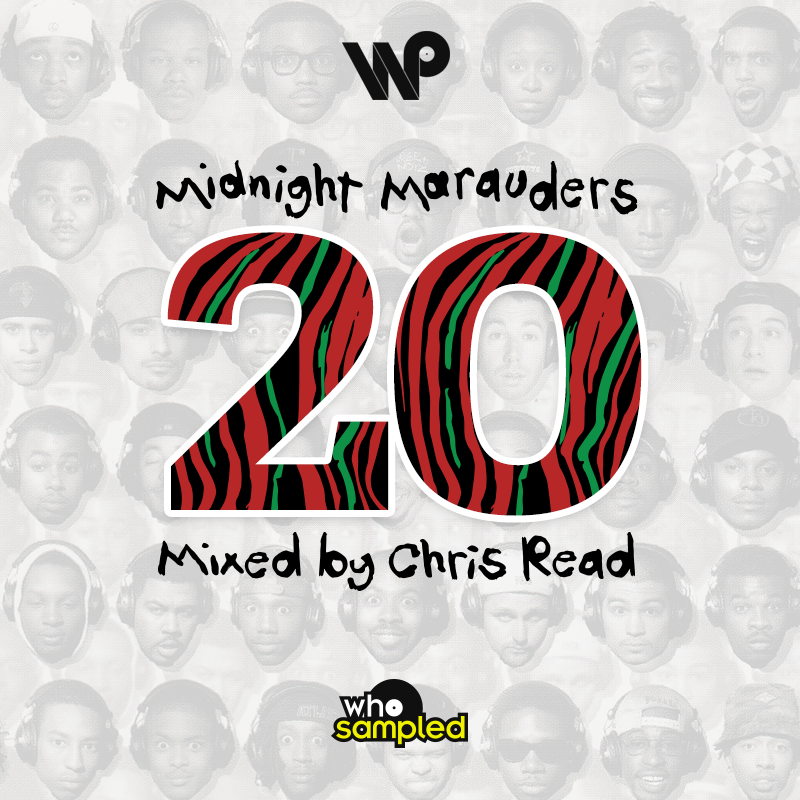 A Tribe Called Quest - Midnight Marauders 20th Anniversary Mixtape