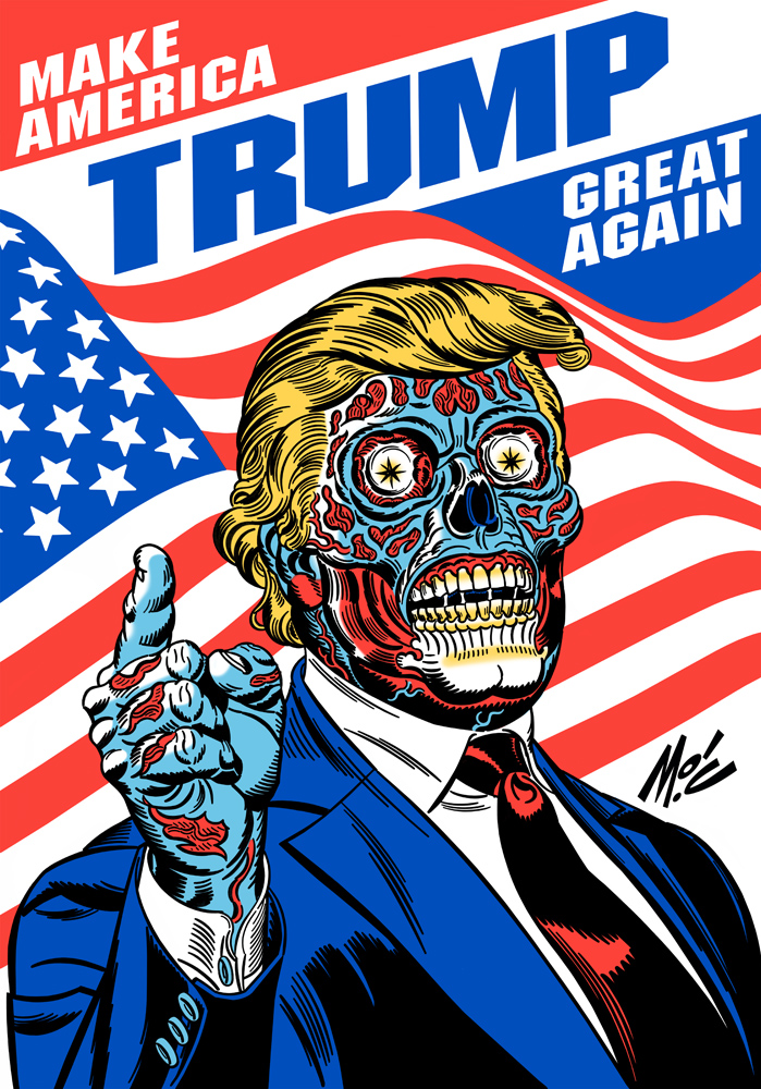 Trump/They Live