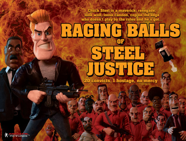 Chuck Steel: Raging Balls of Steel Justice
