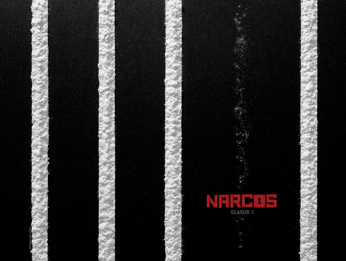 Narcos Poster by Alan Hynes
